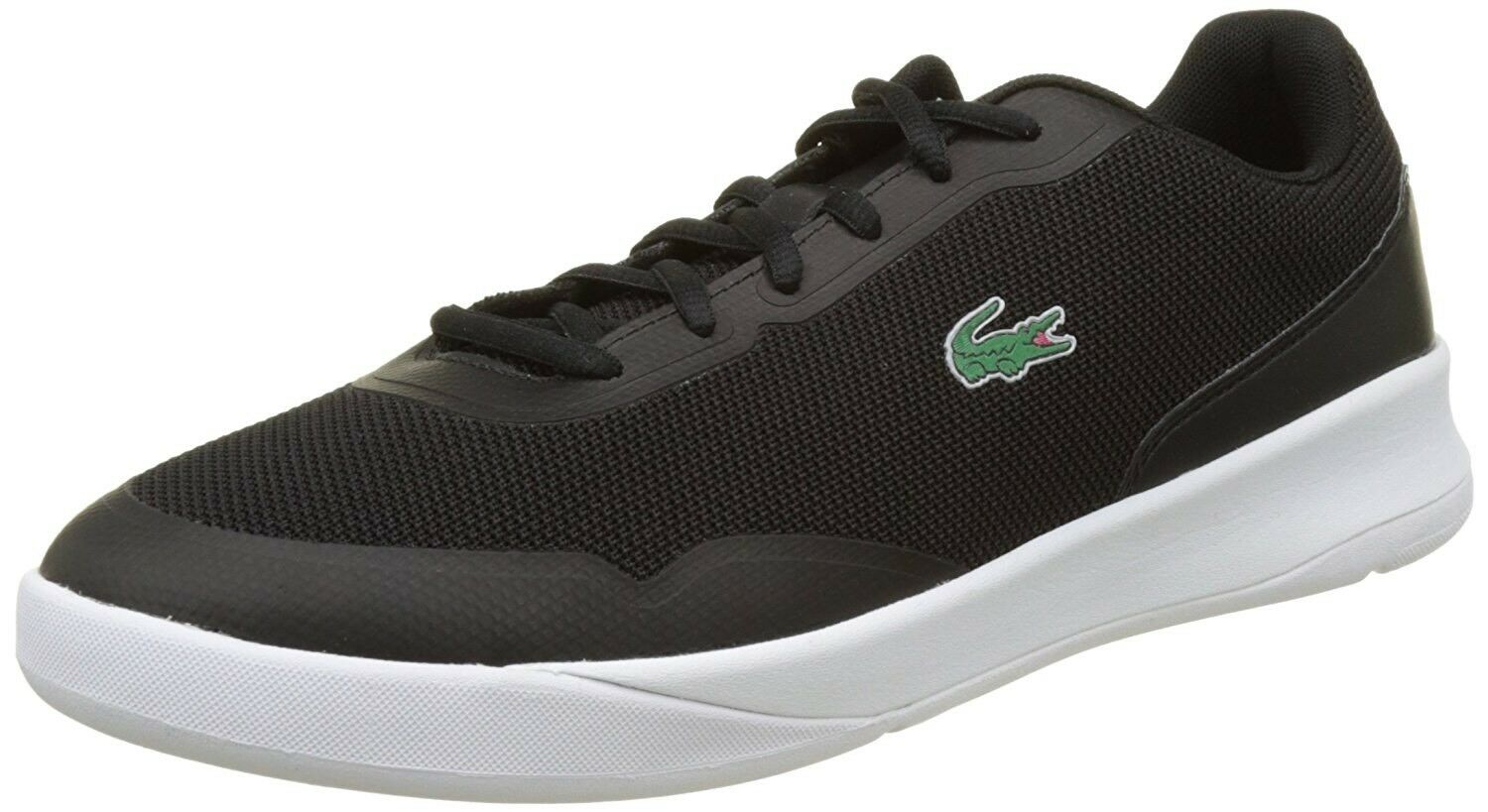 New In Box  Lacoste LT Spirit 117 1 Black Sneakers- Men's Size 11.5