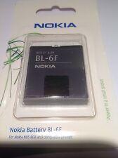 BATTERIA NOKIA-BL-6F- N78-N79-N95 8gb- ORIGINALE BLISTER