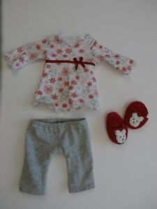 American Girl Doll of Today Retired 2011 Coconut Pajamas Shirt Pants Slippers