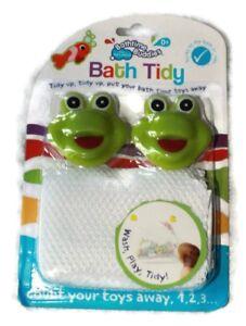 Kids Baby Bath Giocattoli di archiviazione Netto Borsa Bagno ordinato, Bathtime Fun Rana  </span>