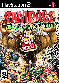 Rampage Total Destruction Sony Playstation 2 2006 For Sale