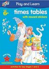Galt Toys Home Learning Books Times Tables With Reward Stickers
