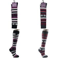 Womens Long Knee High Socks Ladies Winter Welly Boot Length Sock Size 4-7