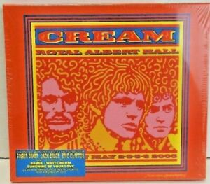 Cream-Live-at-the-Royal-Albert-Hall-2005-Brand-New-amp-Sealed-Double-CD