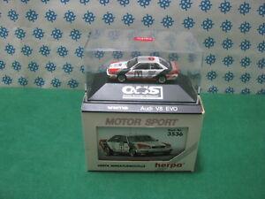 Vintage-AUDI-V8-EVO-034-Dekra-034-H0-1-87-Herpa-M-Sport