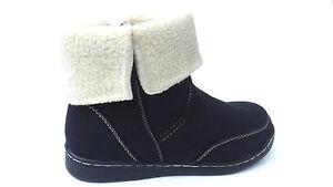 Women Ladies Ankle 3 Size Low Boots Boot Chelsea Fleece Heel Lined Riding Biker aEXqx5gw