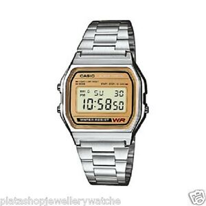 Casio-Watch-Retro-A158WEA-9EF-Illuminator-Auto-Calendar-Stopwatch-Men-Boys-Gift