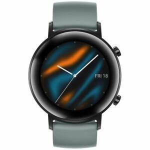 Smart Watches 30.48 mm GPS Lake Cylan Metal. Silicone Case