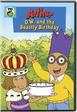 Arthur: D.W. and the Beastly Birthday (DVD, 2018)