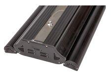 Biopur RealSun 1x 150W HQI Hängelampe mit 4x T5 und Ledmondlicht - schwarz 95cm