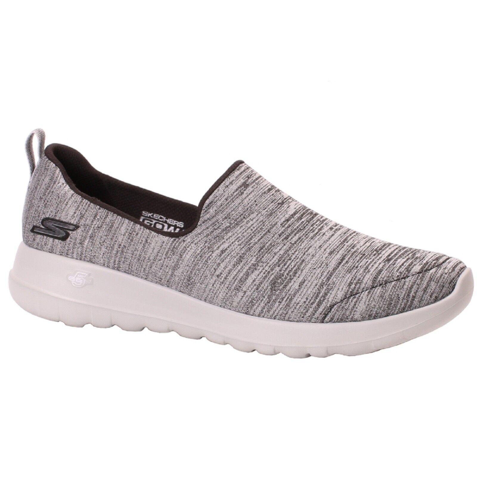 Women's Skechers GO WALK JOY 15611 Black Black Black Grey Slip-On Athletic Walking shoes ec5e5c