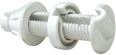 Watertight Cable Thru Hull Fitting White Seachoice 17921