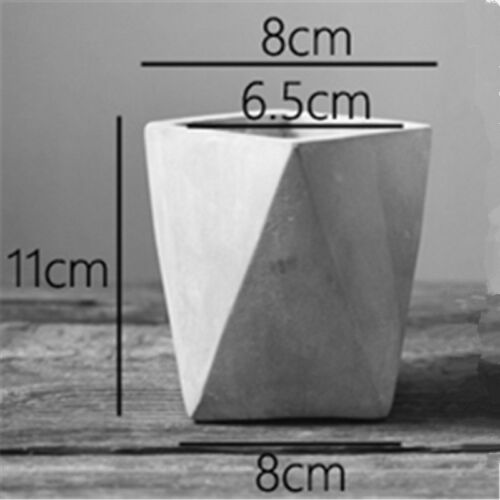 Retro Concrete Vase Making Molds Home Made flowerpot silicone cement mould