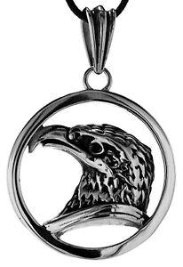 Eagle Eagle Bald Eagle Figurine pendant Made of Stainless Steel Nr.204