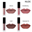 4-piezas-Set-Mujeres-Mini-Brillo-Labial-Mate-Maquillaje-Cosmetico-Impermeable-Lapiz-labial-liquido miniatura 5