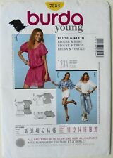 Burda 8359 Misses Blouse Sewing Pattern ~ Size 8-20