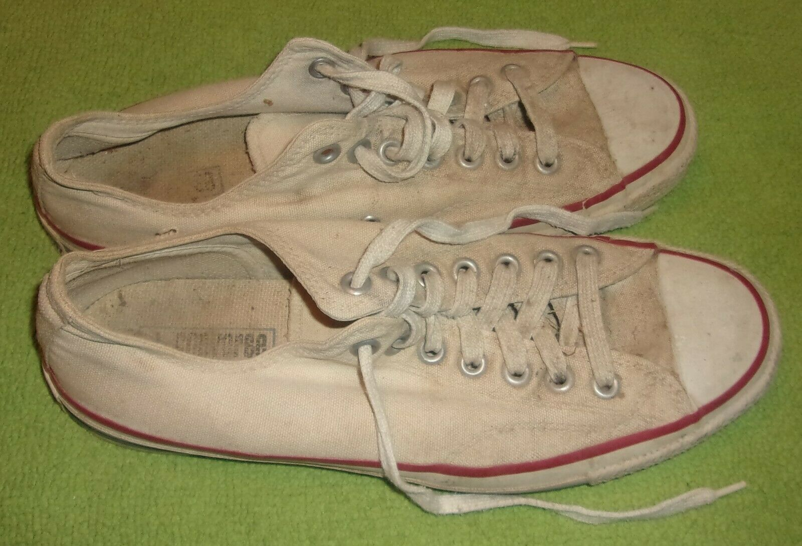 Antique Années 1940 homme Converse All Star Chaussures Taille 9 ORIGINAL à collectionner Display