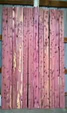 "Aromatic Eastern Red Cedar T & G Paneling - 4 1/2"" X 96"" X 1/2"" - 12pcs 36 sq ft"