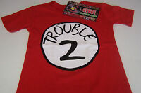Trouble 2 Red Youth Shirt Xs-l Screen Printed Piranha Records