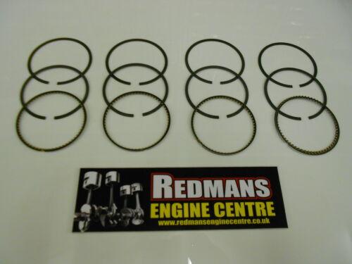Vauxhall astra//zafira ecotec 1.6 16v piston rings std taille 2001-Z16XE X16XE