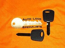 TWO  Ford H72-PT. Pats Transponder Chip Key Blank.      F 150. 1999-2003