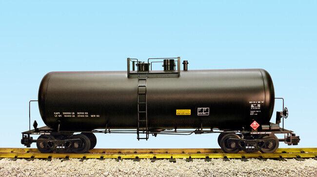 El El El tren americano r15250, sin decorar... Un camión cisterna moderno de 42 pies negro, cajas de Cocheamelos de menta. 811