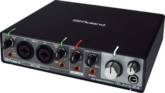 Roland RUBIX24 USB Audio Interface New in Box