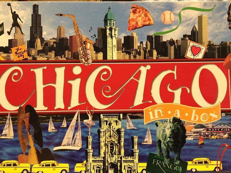 Chicago, Familie spil, brætspil