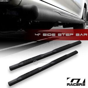 4-034-Matte-Black-For-1997-2004-F150-F250-Super-Cab-Oval-Side-Step-Nerf-Bars-Boards