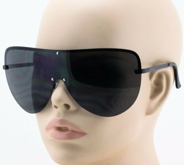 Huge Oversized XL Square Tortoise Way Aviator Fare Flat Top Hipster Sunglasses