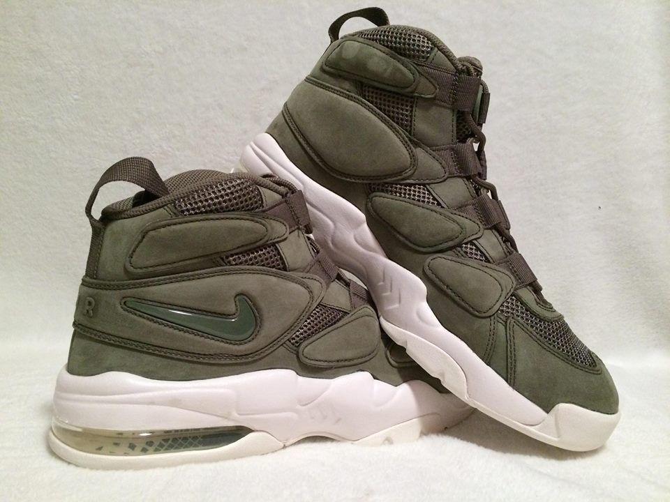 Men's Nike Air Max 2 Uptempo Urban Haze Basketball QS 919831-300 Comfortable