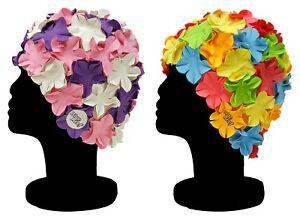 BLUE-REEF-Floral-ISLA-MUJER-Clasico-Retro-Flor-Petal-Multicolor