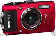 "Olympus TG-4 TG4 Waterproof 16mp 3"" Digital Camera Brand New Jeptall"