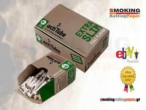Filtri ACTITUBE Slim 6mm Carboni Attivi - 1 Scatoline Da 50 Filtro NUOVO