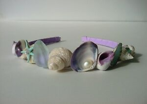 Mermaid Crown Sea Shell Tiara for beach wedding, prom, festival