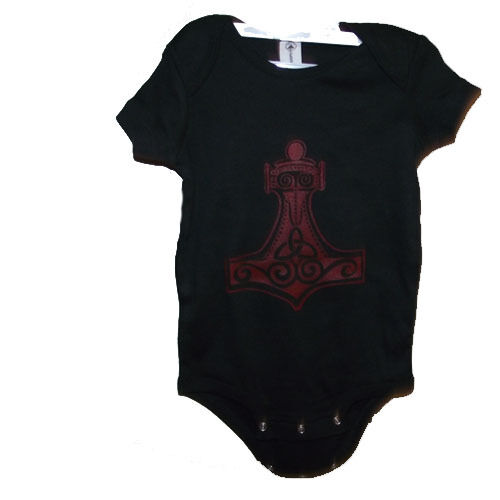 Hammer of thor baby one piece baby clothes choose size 6 and 12 to 18 months