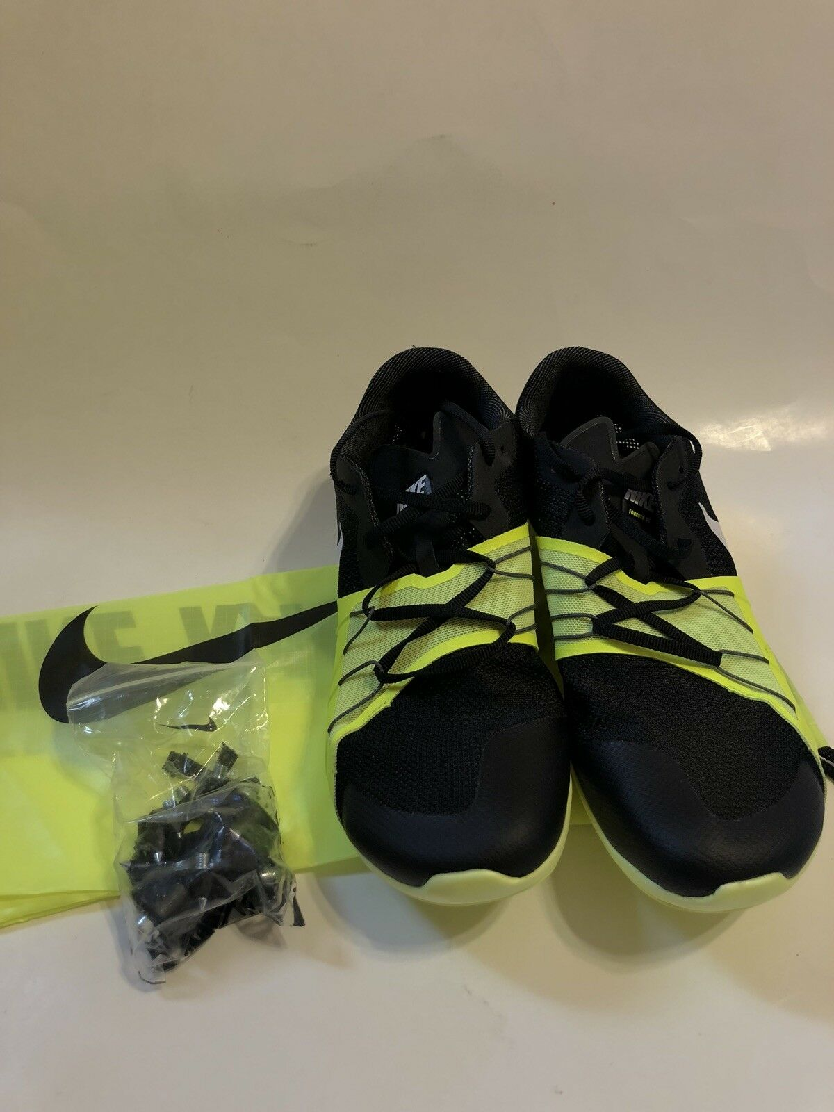 finest selection c24c0 b8525 New Men s Size 7 7 7 Nike Zoom Forever XC 5 Spike 904723-017 Black