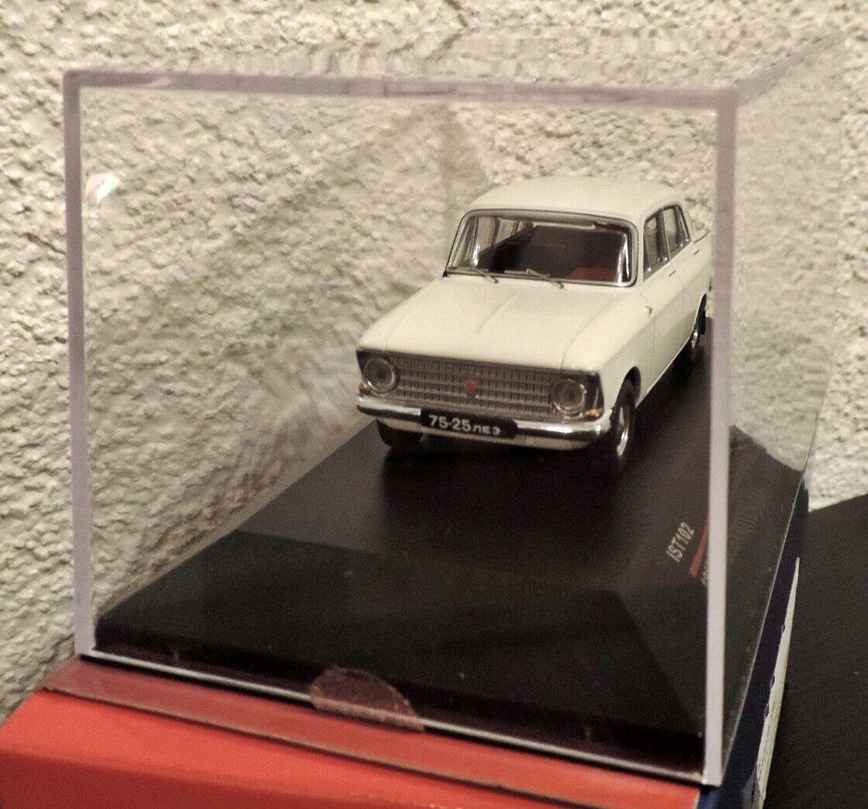 Neu IST IST IST Modellauto Moskwitsch 408 weiß 1 43, USSR, DDR, OST  102 Moskvitch 408  | Zuverlässiger Ruf  26e935