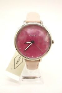 615a13590dd8 La foto se está cargando Nuevo-Reloj-Fossil-Jacqueline-para-mujer-de-cuero-