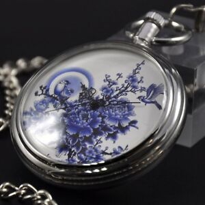 Antique-Automatic-Mechanical-Pocket-Watch-Self-winding-Vintage-Retro-Chain-Gifts