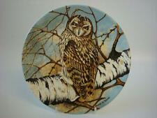 COALPORT THE WISE OWL COLLECTION SHORT-EARED OWL PLATE