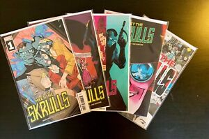 MEET-THE-SKRULS-1-5-COMPLETE-SERIES-MARVEL-COMICS-DISNEY-PLUS