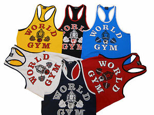 e1d24c971c330 Image is loading World-Gym-Ringer-Tank-Top-New
