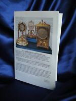 Instruction Booklets 4 Schatz 53 400 Day Anniversary Clock Suspension Spring