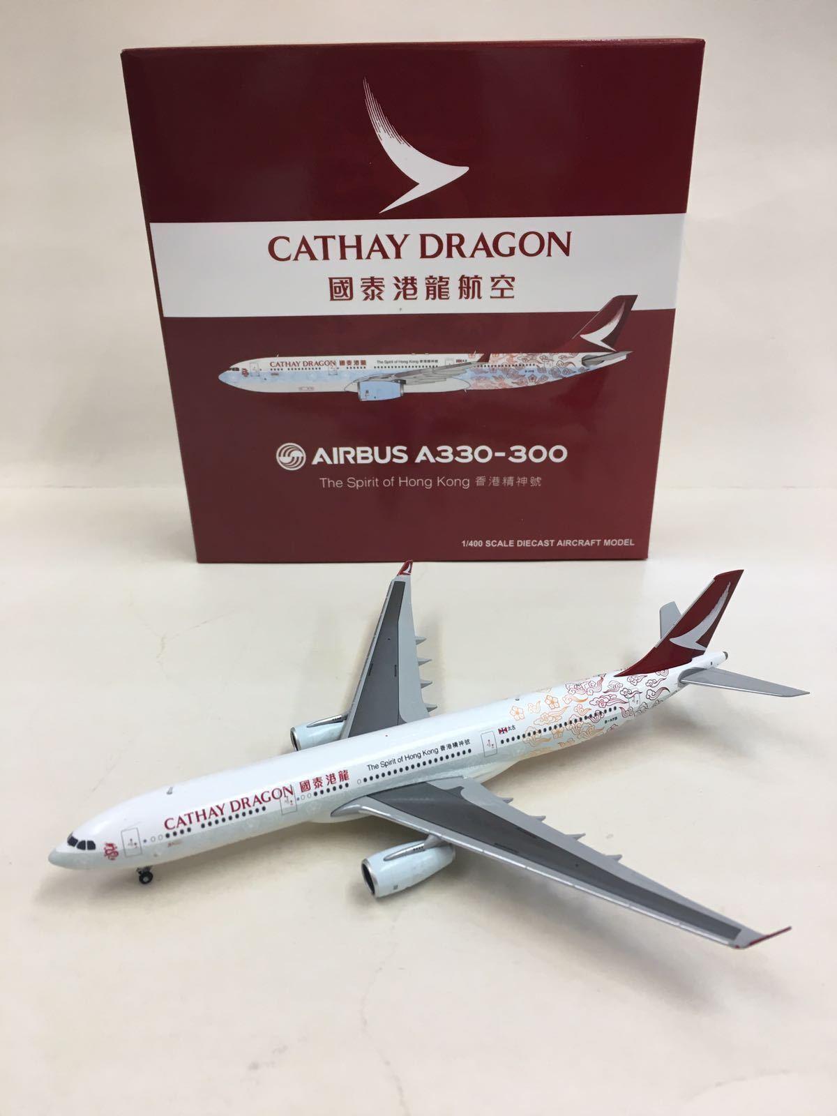 JC Wings 1 400 Cathay Dragon AIRBUS A330-300 B-HYB The Spirit of Hong Kong
