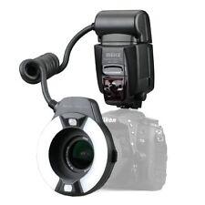 Meike MK-14EXT Macro i-TTL Ring Flash for NIKON Camera with LED AF assist lamp