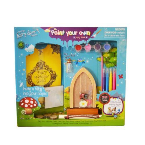Paint Your Own Fairy Door  Gift from The Irish Fairy Door Company