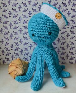 8 Knit and Crochet Sea Creature Patterns | 300x243
