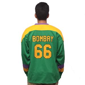 DéVoué Gordon Bombay #66 Mighty Canards Film Hockey Jersey Entraîneur Costume Pull
