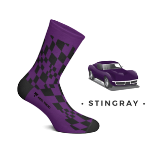Chevrolet Corvette Stingray Socks Sting Ray And Midlife Classic Car Sticker
